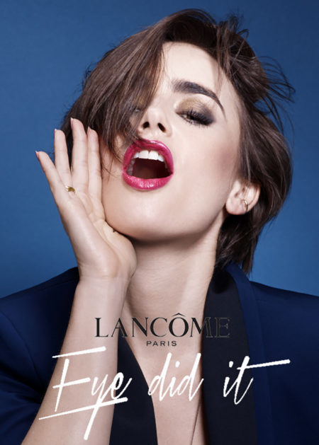 Zeynep represents lancome