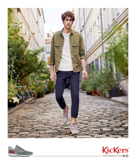 Kickers ss campaign by sylvain homo