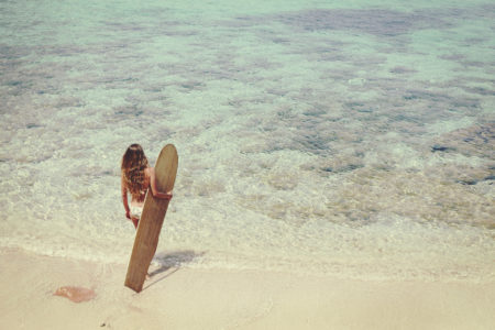 Billabong in summer by diane sagnier