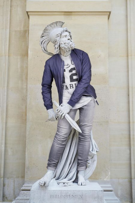 Hipsters in stone by leo caillard