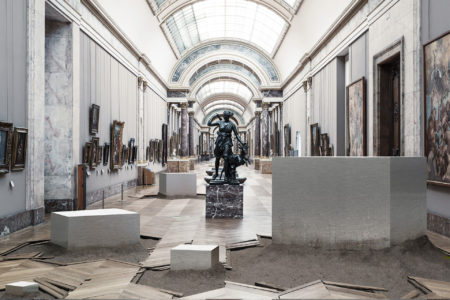 Below museum by by leo caillard