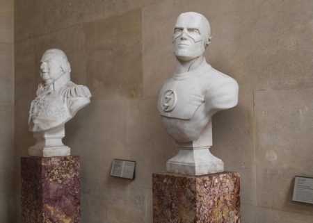Heroes in stone by leo caillard