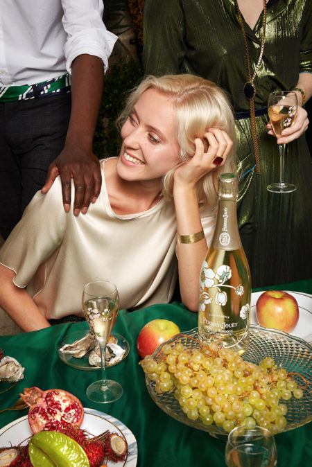 Perrier jouët by chloé gassian