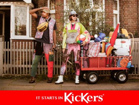 Kickers campaign by sylvain homo