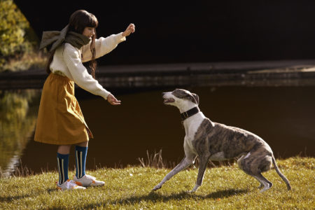 Zeynep represents hooligans magazine the dog sitter
