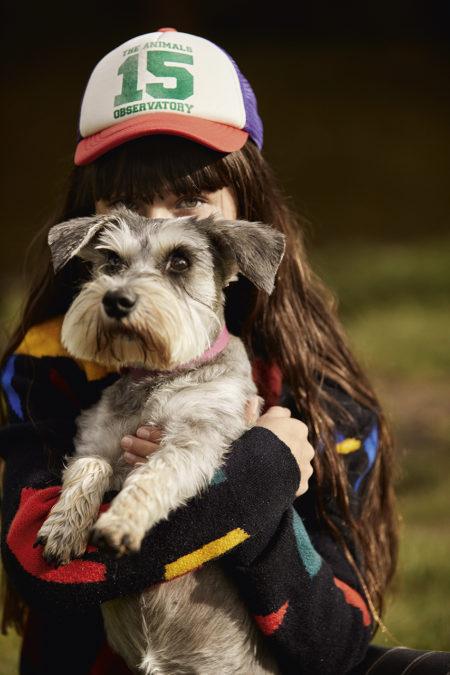 Zeynep represents hooligans magazine the dog sitter