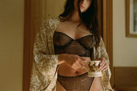 Zeynep represents noo underwear ss